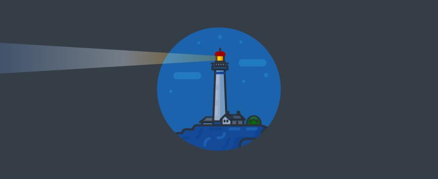 A light tower.