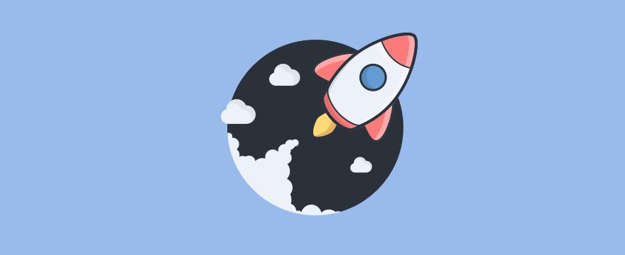 Raket lanceert een nieuwe website.