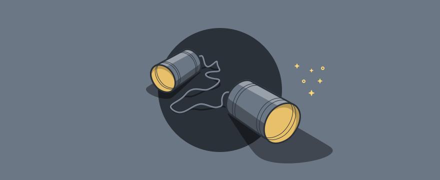dos latas – juegos de comunicación