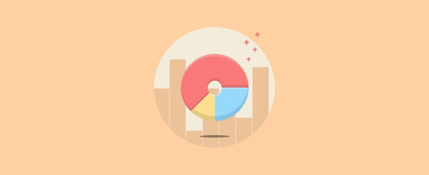 Kreis- und Balkendiagramm - Headerbild für Blogbeitrag zu Kennzahlen im Service