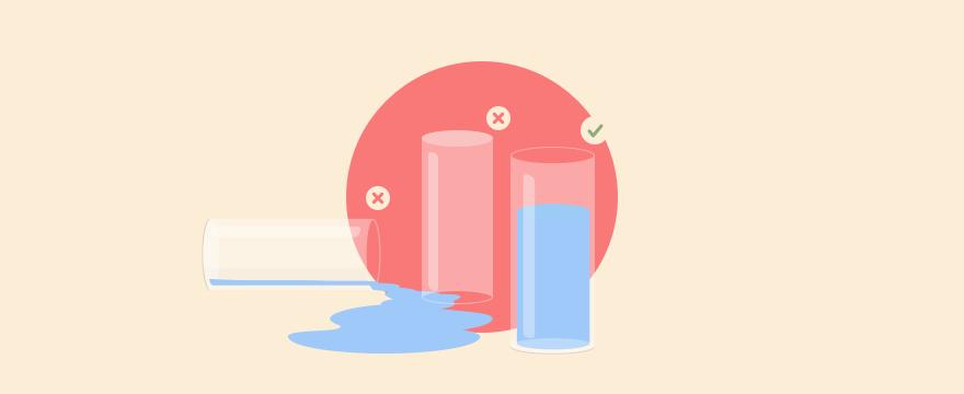 """3 Gläser - Headerbild für Blogbeitrag """"Kundenorientierte Gesprächsführung"""""""