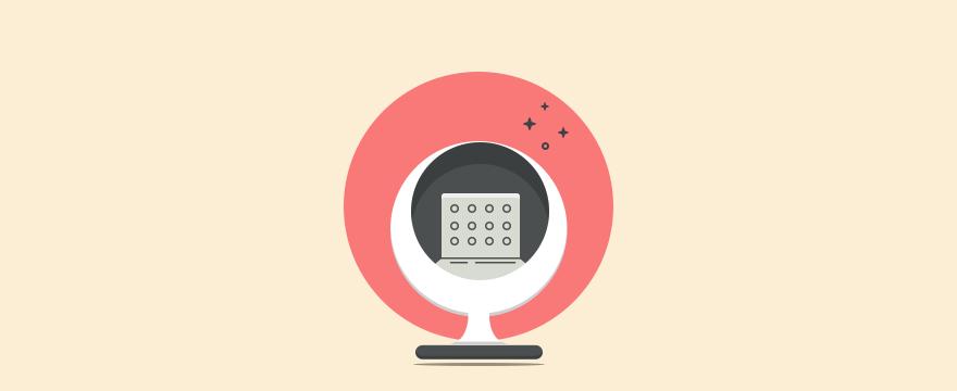 ein Stuhl –  Blog-Post zu Vorstellungsgespräch im Kundenservice Fragen