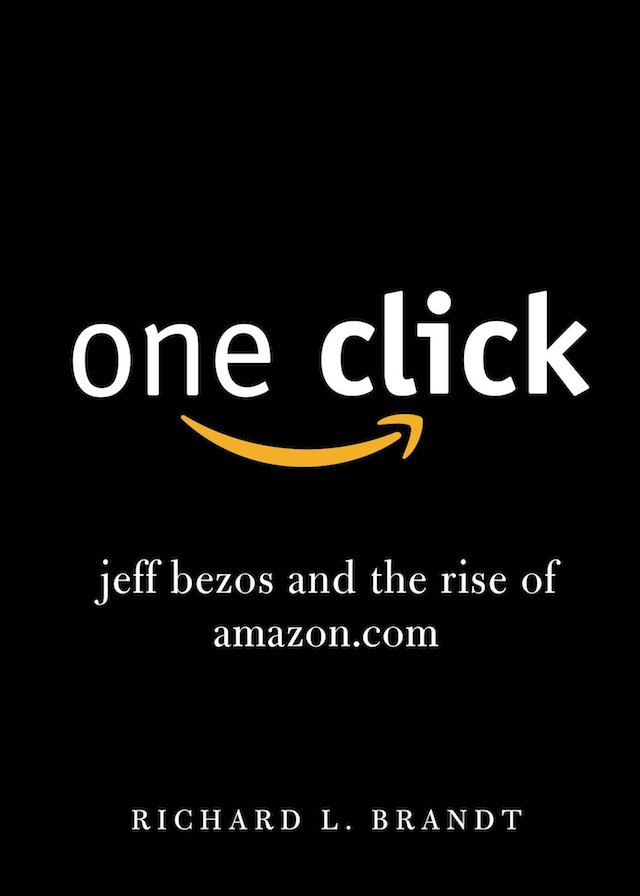 book cover of jeff bezos and the rise of amazon.com book by richard l. brandt
