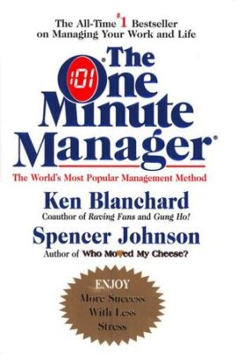 image of book cover of The One Minute Manager