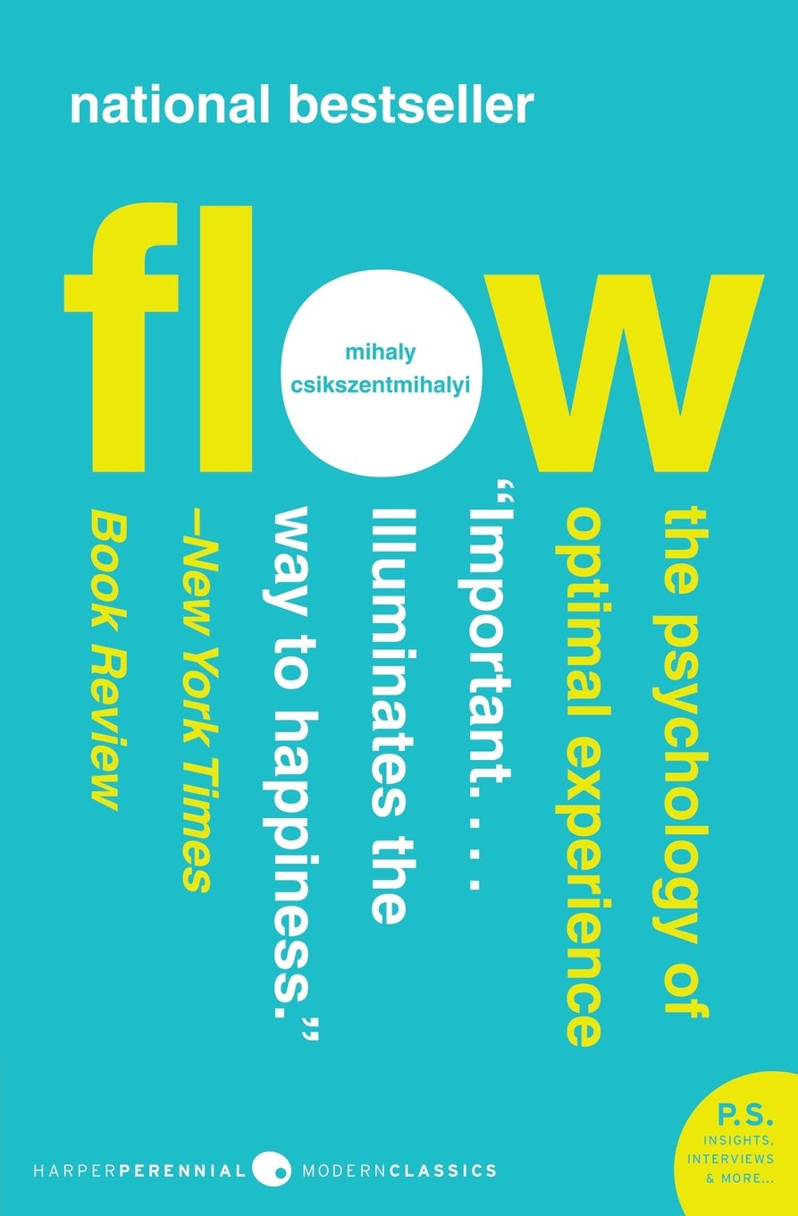 image of book cover of Flow