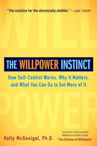 image of book cover of the Willpower Instinct