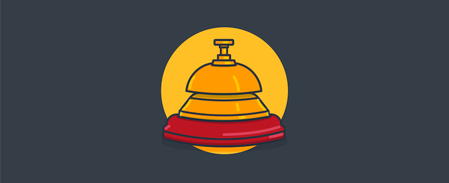 Service bell.