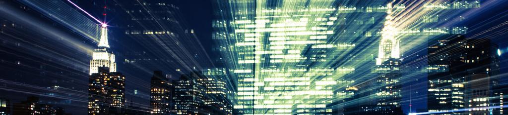 City highrise lights