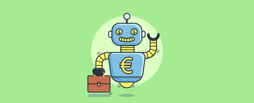 chatbot salesperson - header image for 8 Sales Chatbot Features That Hook Customers