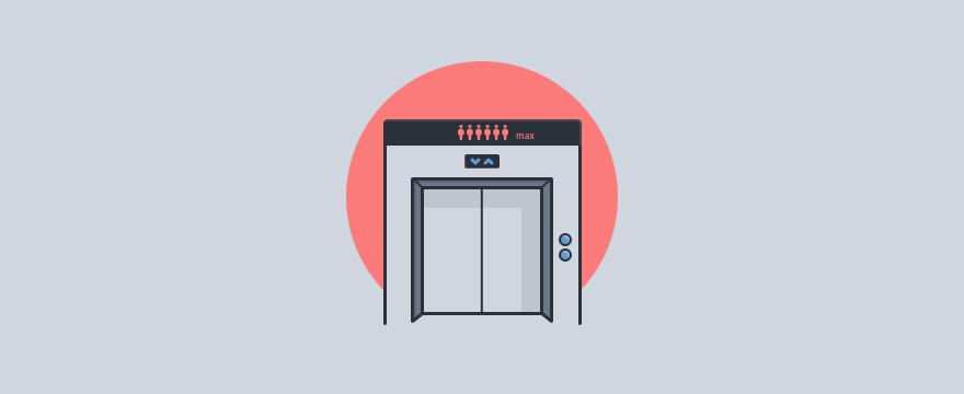Ein Aufzug - Header-Bild für Blogbeitrag zu SLA