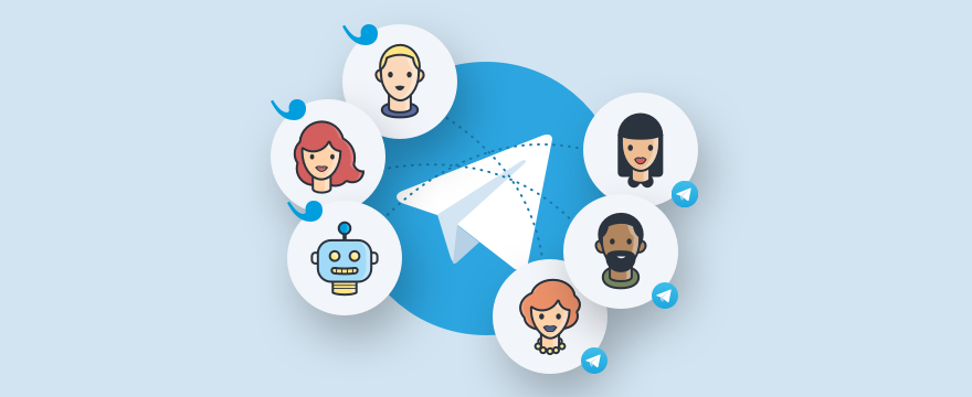 Telegram & Userlike - Headerbild für Blogbeitrag