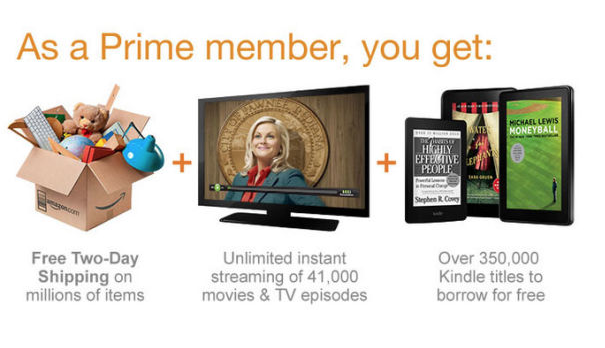 Amazon Prime advert