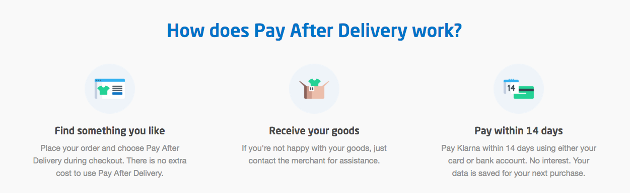 PayPal Pay After Delivery banner
