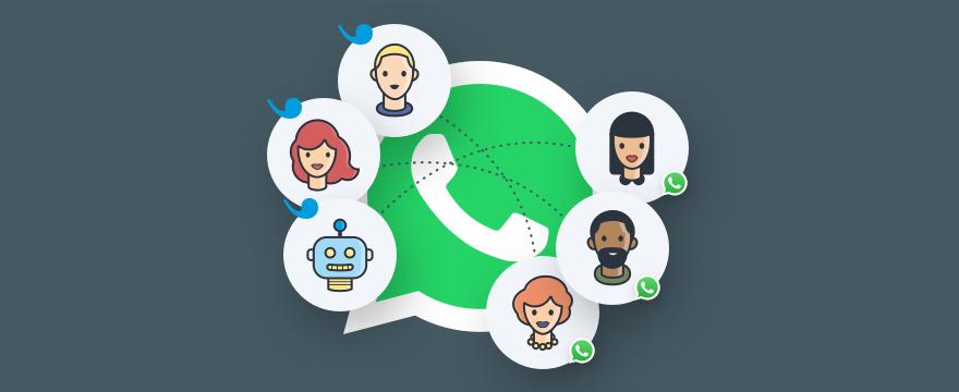 WhatsApp Logo und Userlike