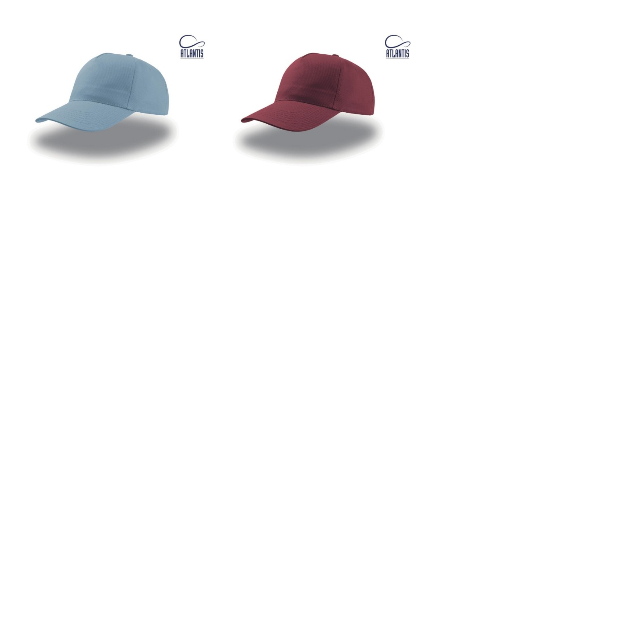 100% De Qualité Atlantis - Casquette Start 5 - Mixte (lot De 2) (ab425)