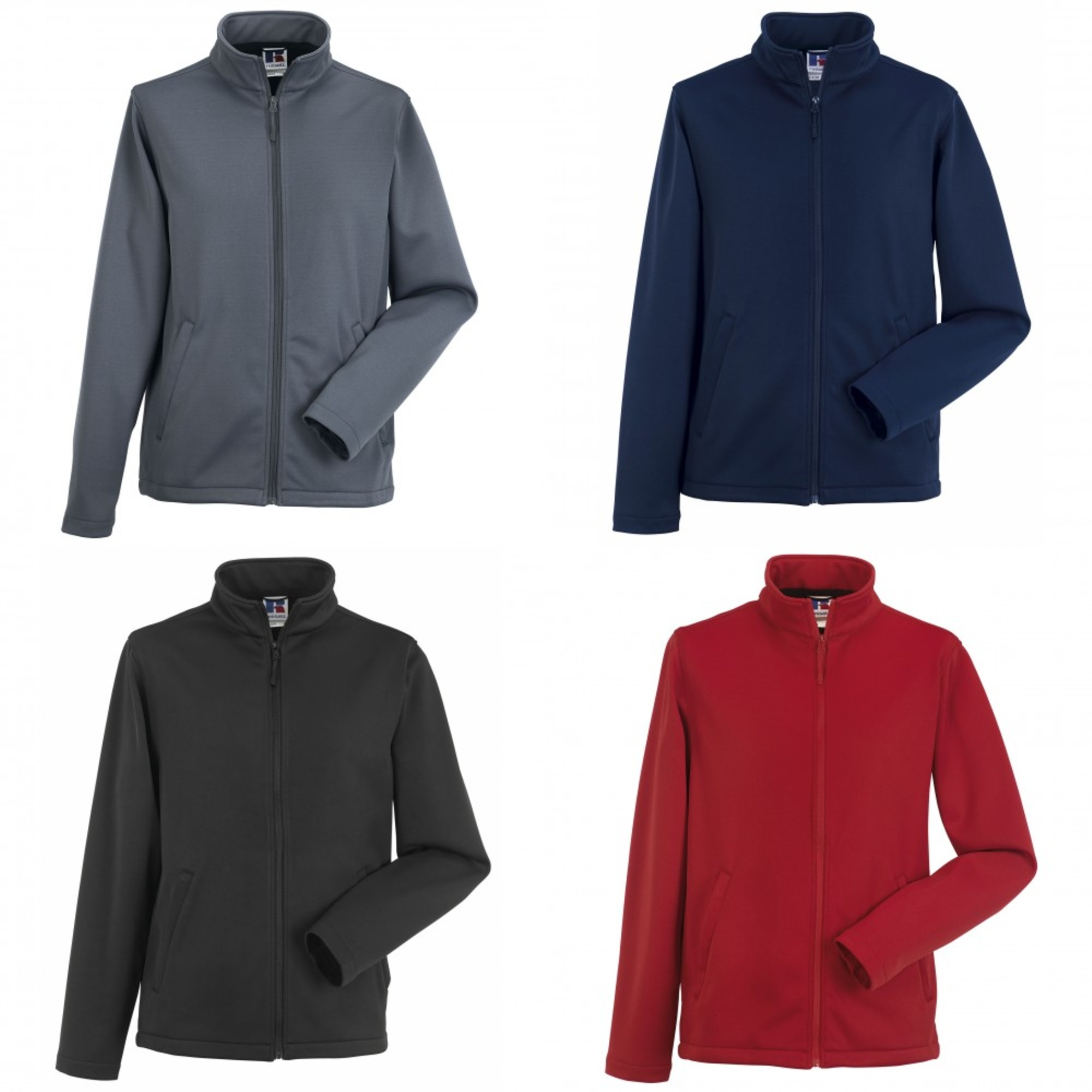 Russell Softshell Giacca Smart Uomo bc1509 rrXPg