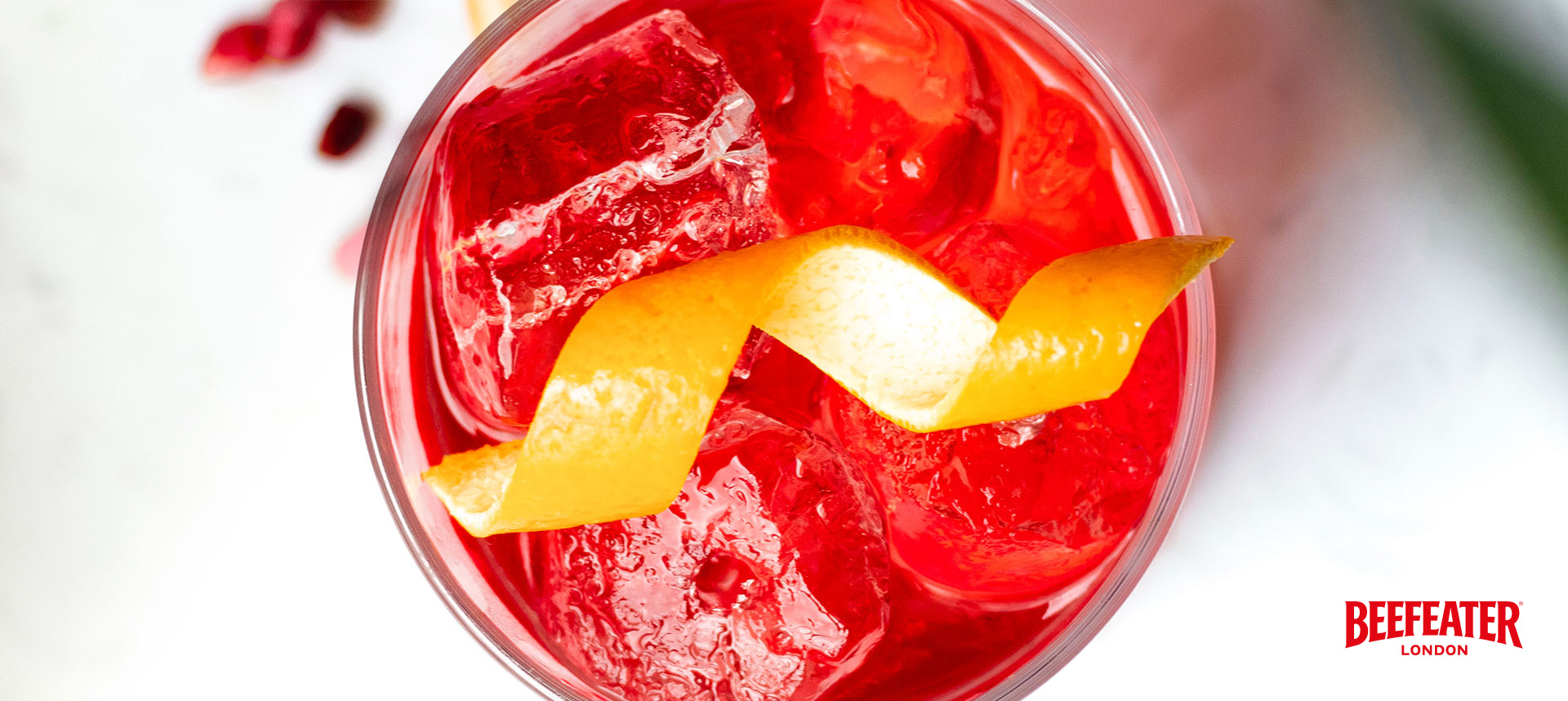 Perfect Beefeater Negroni