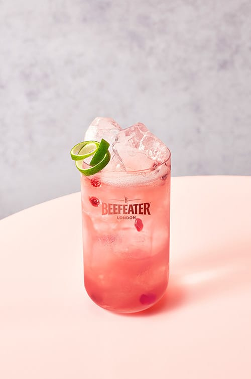 Pink Refresher - Pink Gin Cocktails