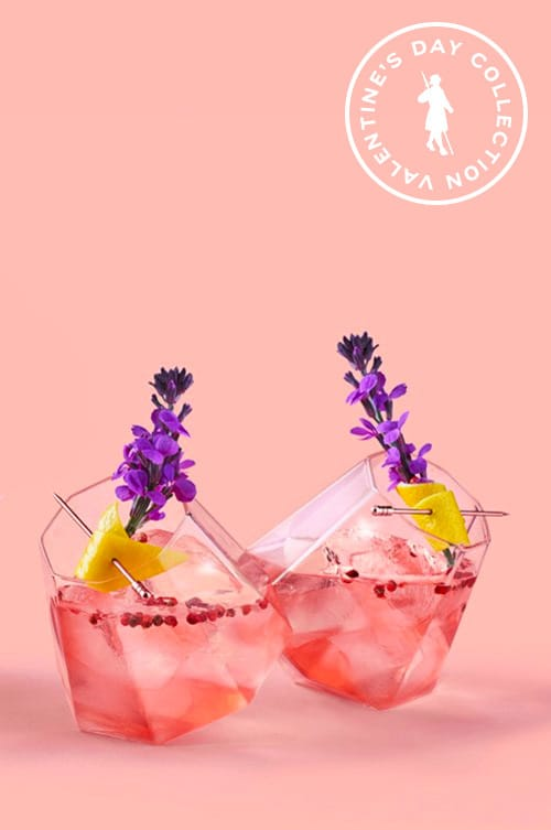 Pink Peppercorn Rose - Pink Gin Cocktails