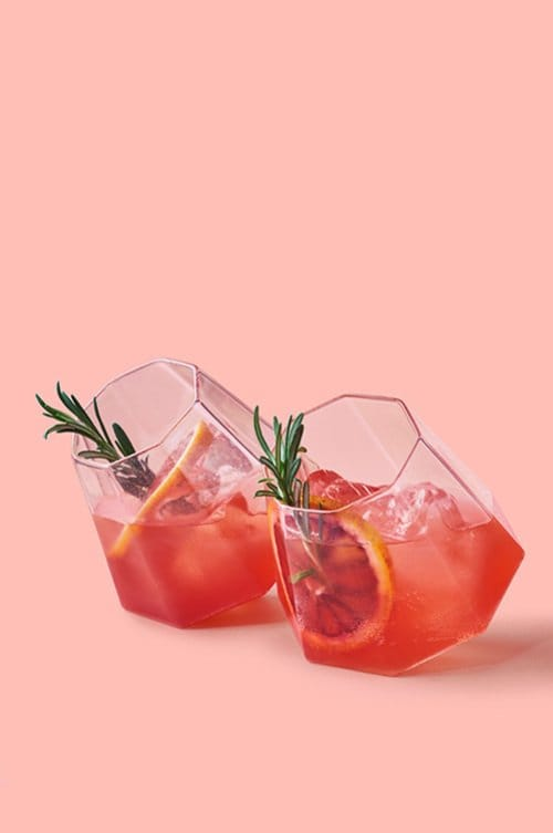 The Pink & Orange Tonic - Pink Gin Cocktails