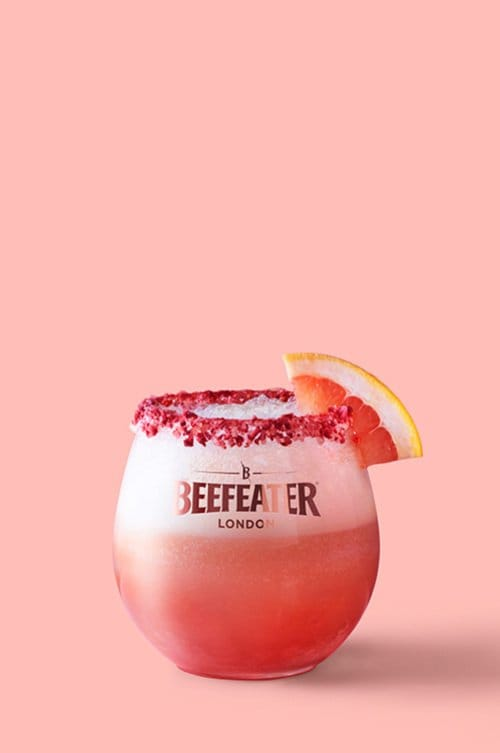 Beefeater Pink Float - Pink Gin Cocktails