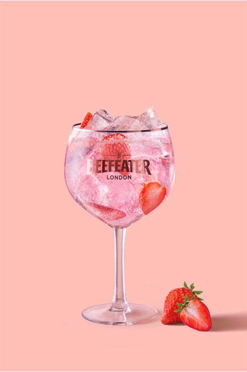 Pink & Tonic - Pink Gin Cocktails