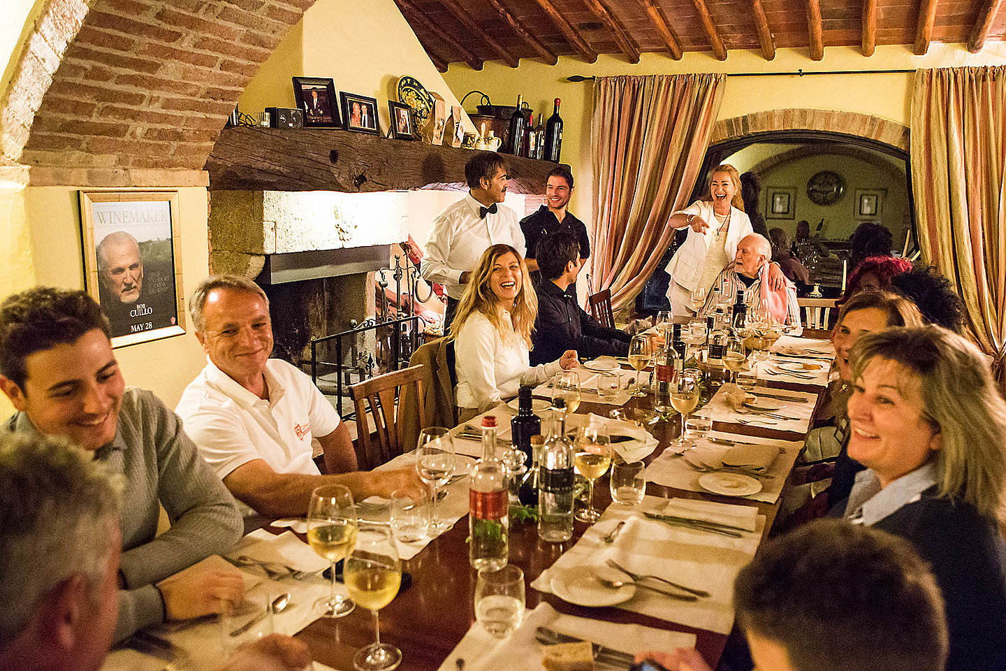 ... or in our cozy restaurant.