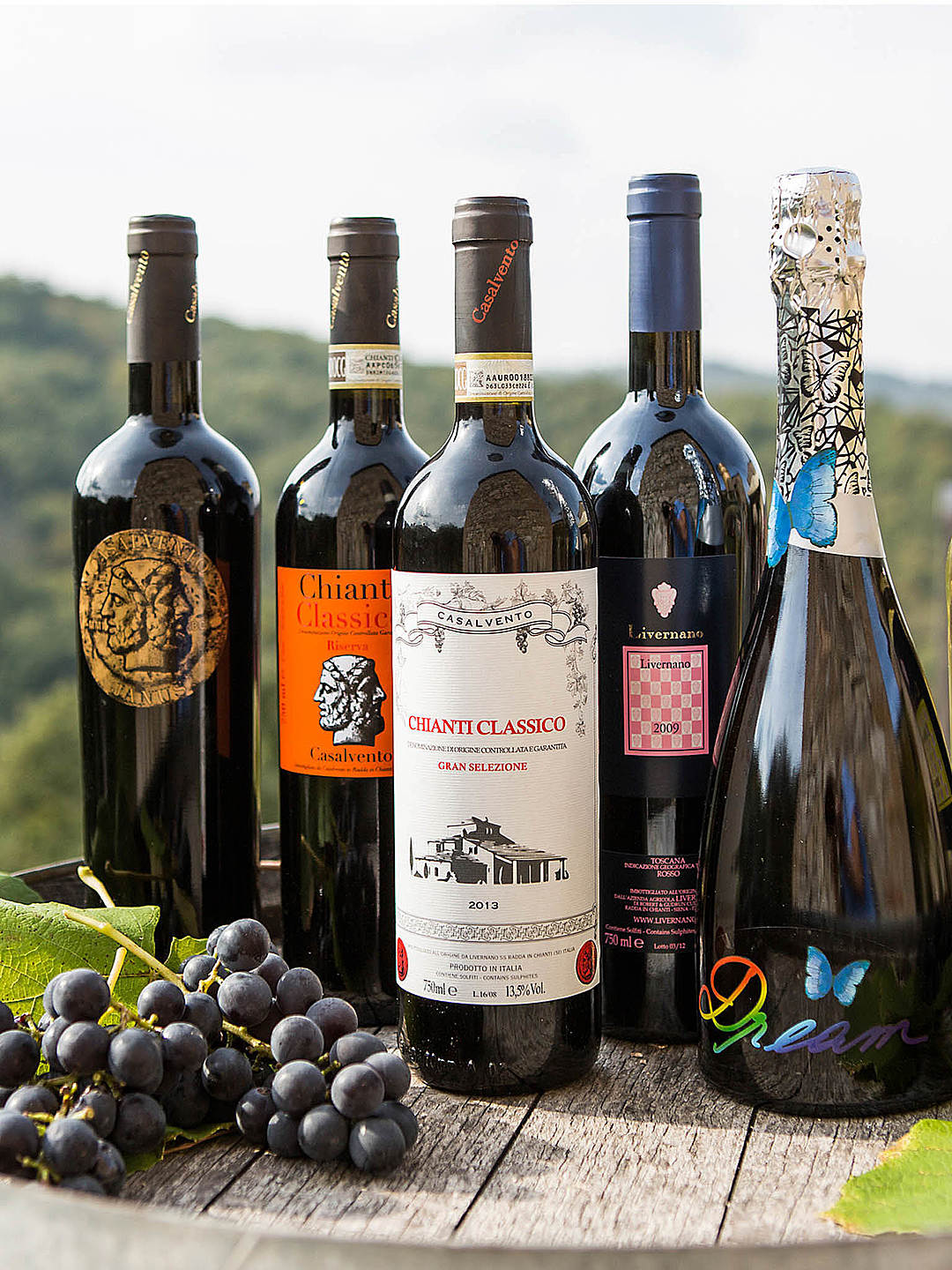 Our full selection of Casalvento, Livernano and other wines will match-up perfectly!