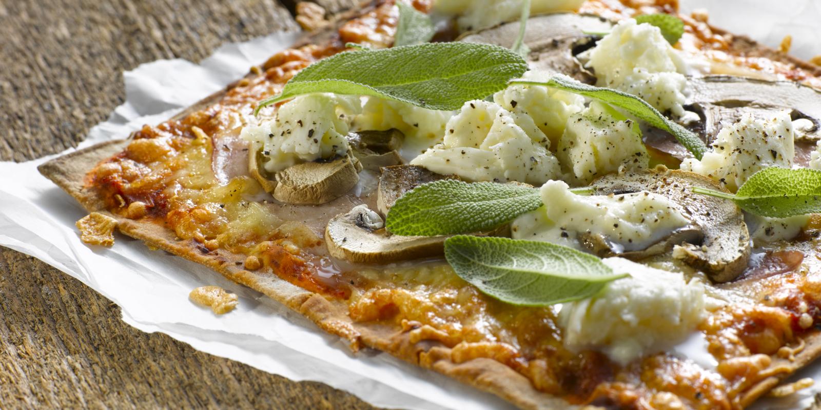 Herkkusienipizza