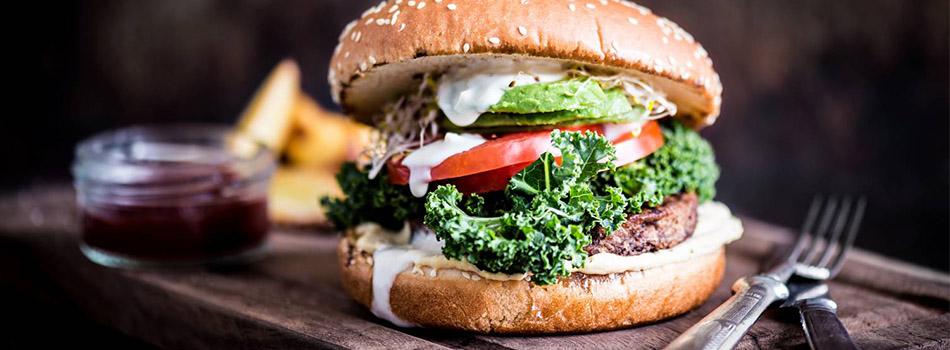 Vegeburgeri - Vappu reseptit - Vaasan
