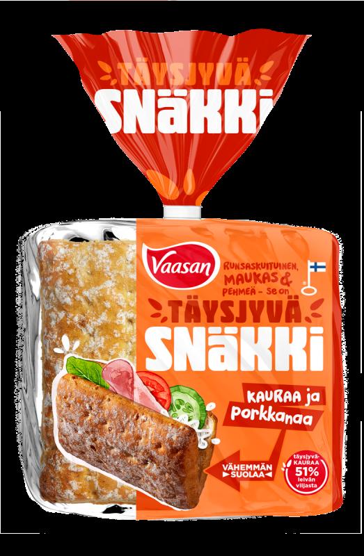 Vaasan Snäkki Kaura-Porkkana