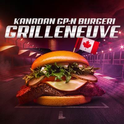 Kanadan GP burgeri