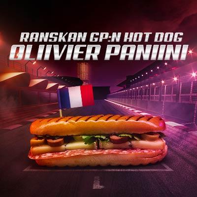 Ranskan GP hodari