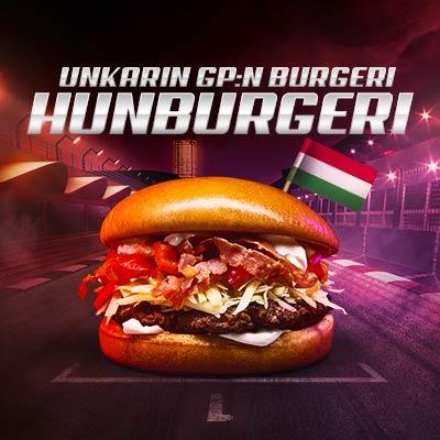 Unkarin GP burgeri