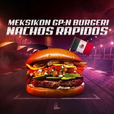 Meksikon GP burgeri