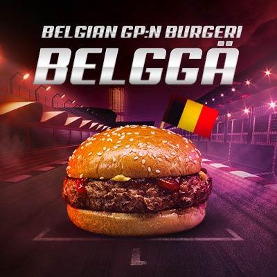 Belgian GP burgeri
