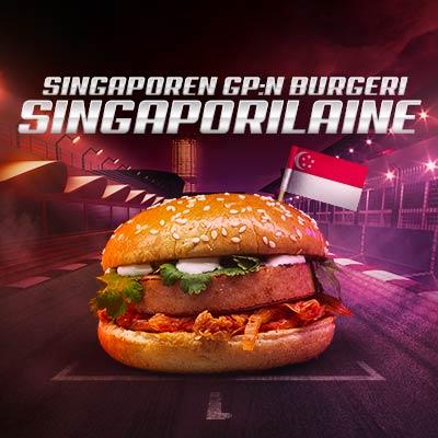 Singaporen GP burgeri
