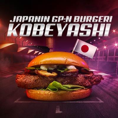 Japanin GP burgeri