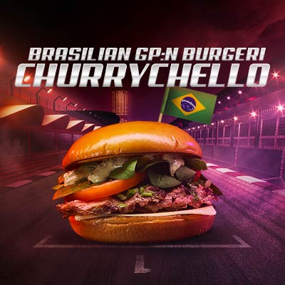 Brasilian GP burgeri