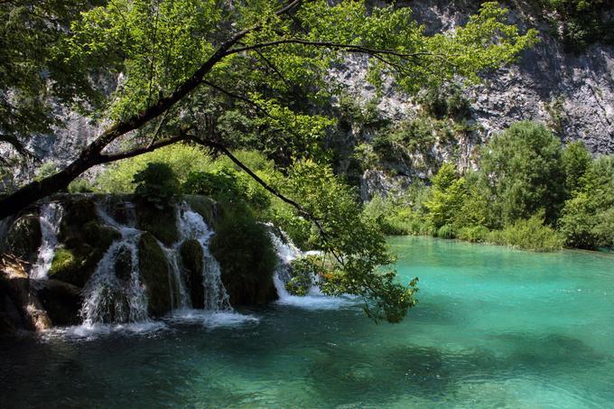 Jeziora Plitwickie - trzecie najpiękniejsze wodospady świata
