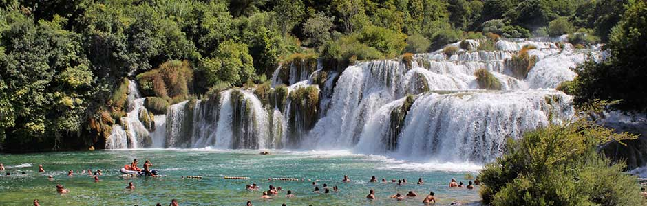 Riviera Krka (river) Croatia