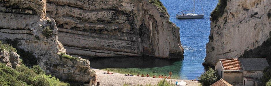 Riviéra Vis Horvátország