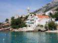 Property Pisak (Omiš) - Accommodation 1001 - Apartments near sea with pebble beach.