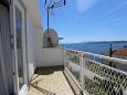 Balcony - Apartment A-10032-c - Apartments Živogošće - Porat (Makarska) - 10032