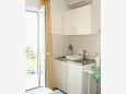Kitchen - Studio flat AS-10032-a - Apartments Živogošće - Porat (Makarska) - 10032