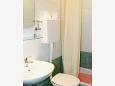 Bathroom - Studio flat AS-10032-a - Apartments Živogošće - Porat (Makarska) - 10032