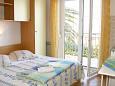 Bedroom - Studio flat AS-10032-a - Apartments Živogošće - Porat (Makarska) - 10032