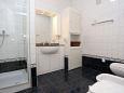 Trpanj, Bathroom u smještaju tipa room, dopusteni kucni ljubimci i WIFI.