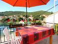 Terrace - Apartment A-10050-a - Apartments Žrnovska Banja (Korčula) - 10050