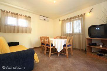 Korčula, Dining room u smještaju tipa apartment, dostupna klima i WIFI.